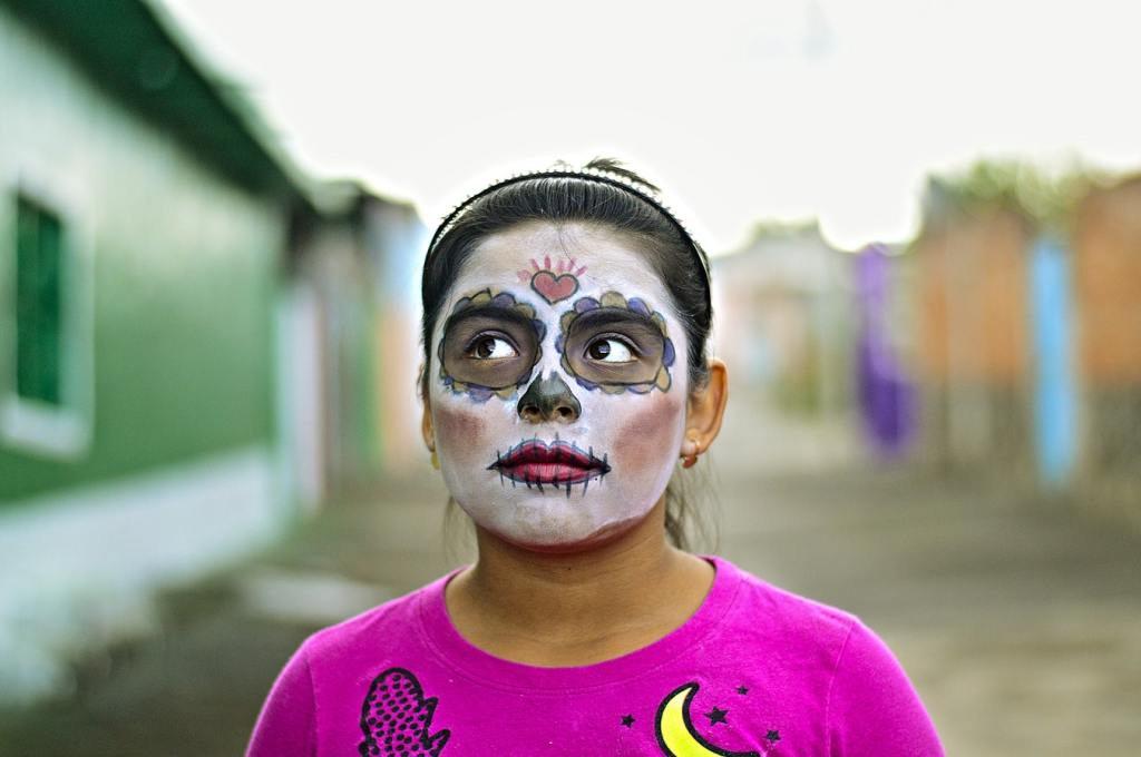 meksiko, mexico, dia de muertos, dan mrtvih, šminka, dekoracija, lobanja, katrina